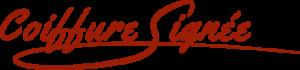 logo coiffure signée